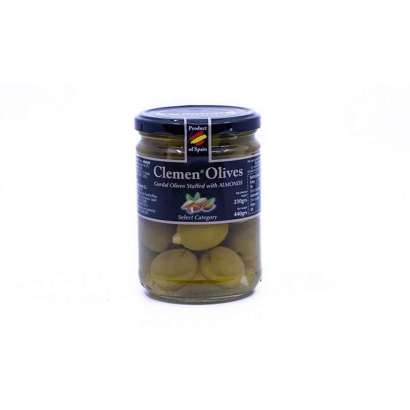 Clemen, Olives-Almendras