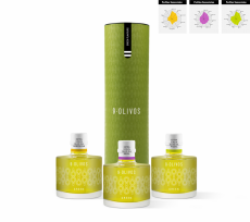 Oliwa z oliwek 9-Olivos, pack cata Green Flavours