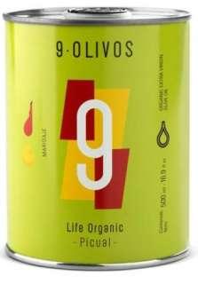 Oliwa z oliwek 9-Olivos, picual