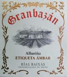 Wino białe Granbazan Etiqueta Ambar