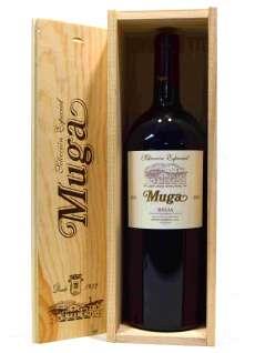 Wino czerwone Muga  Magnum en caja de madera