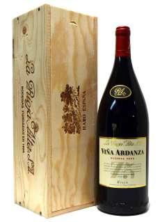 Wino czerwone Viña Ardanza  en caja de madera (Magnum)